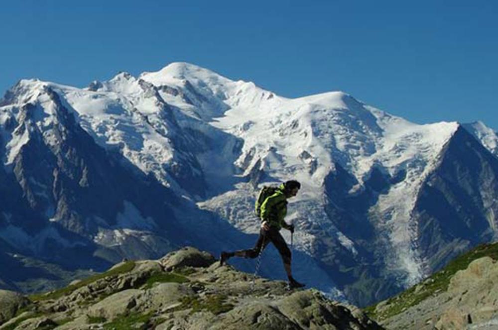 Muere en el Mont-Blanc otro corredor sin equipo de seguridad
