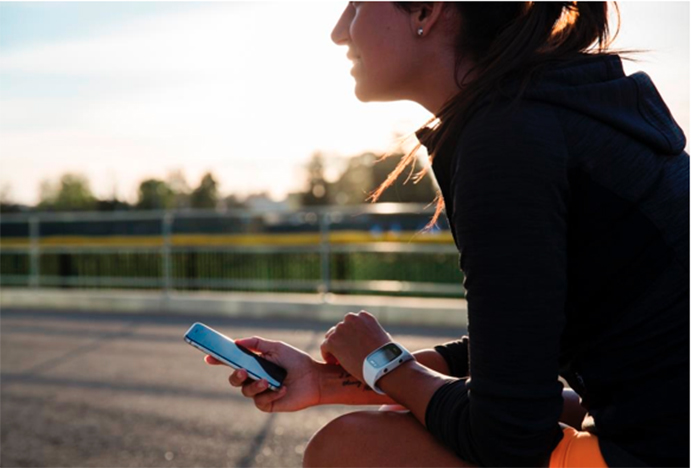 Las plataformas Polar Flow y Nike+Run Club se integran