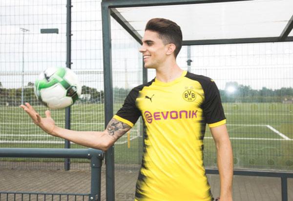 Puma desvela la segunda equipación del Borussia Dormunt