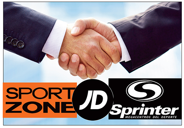 Sonae cierra el acuerdo para la alianza de Sport Zone con JD Sprinter