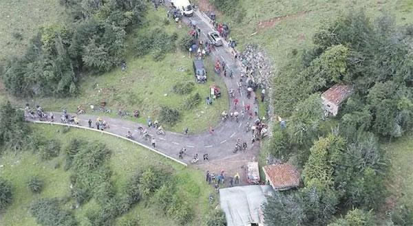 Fallece una joven triatleta en el Angliru