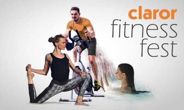 Claror organiza el Fitness Fest en Barcelona