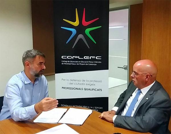 Coplefc y Eshi firman un convenio de colaboración