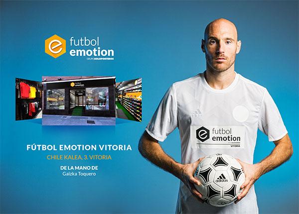 Futbol Emotion abre en Vitoria su tienda número 15
