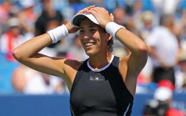 Garbiñe Muguruza alcanza el número uno del tenis mundial
