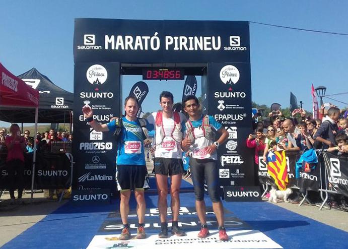 Kilian Jornet marca récord en el Maratón de la Ultra Pirineu