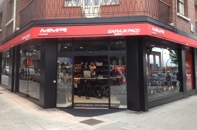 MMR abre su primer concept store de la mano de Garaje Paco