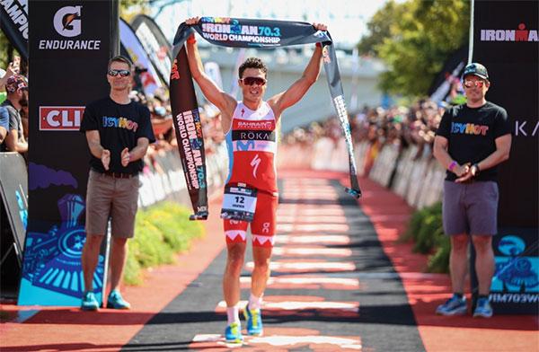 Gómez Noya, campéon del mundo de Ironman 70.3