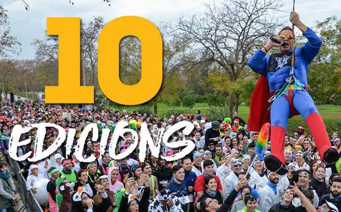 La Buff Epic Run Barcelona celebra su décimo aniversario