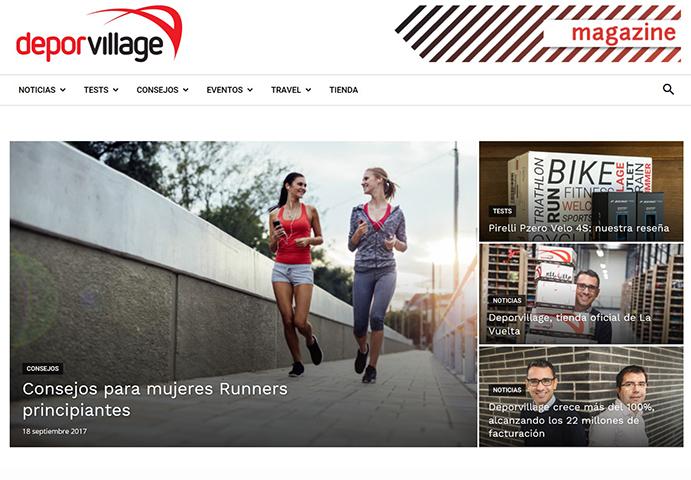 Deporvillage estrena un blog en cuatro idiomas
