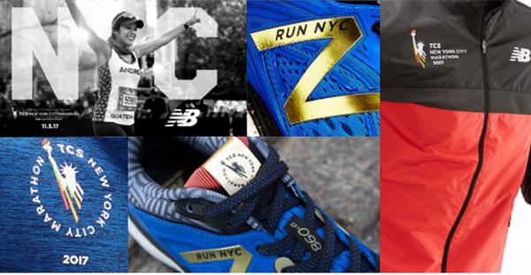 New Balance diseña una colección oficial del Maratón de Nueva York