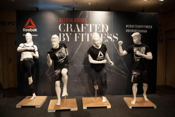 Así son los nuevos maniquís 'Crafted by Fitness' de Reebok