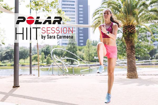 Polar organiza una sesión Hiit para mujeres con Sara Carmona