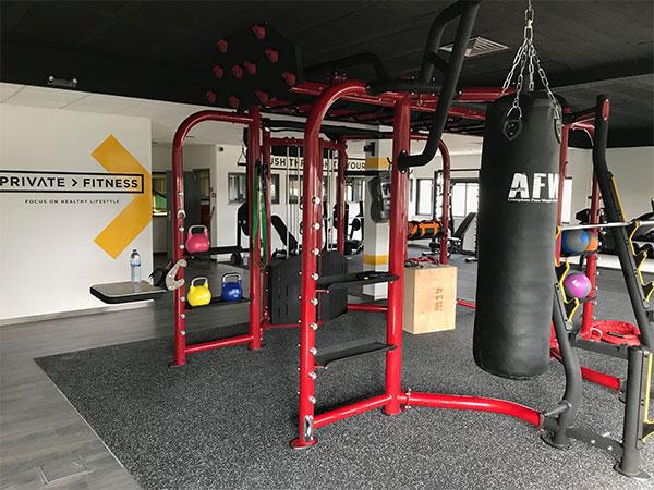 Private Fitness, el gimnasio al que se accede por invitación