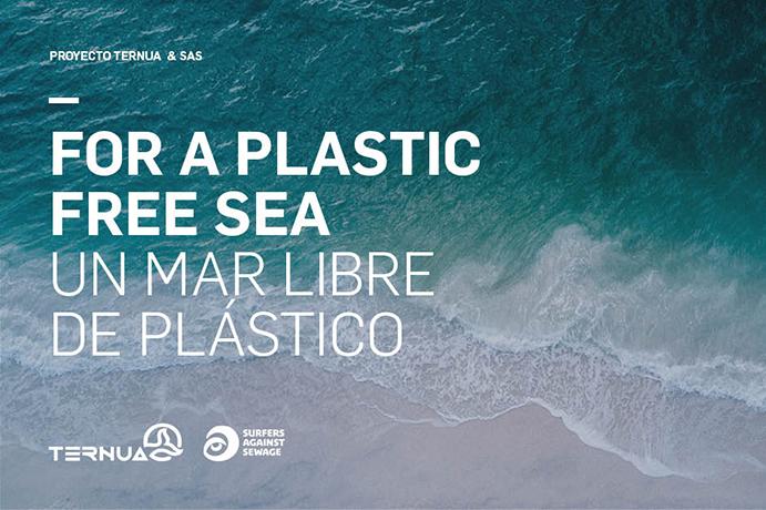 Ternua y SAS reciben 30.000 euros para retirar el plástico de los mares ingleses