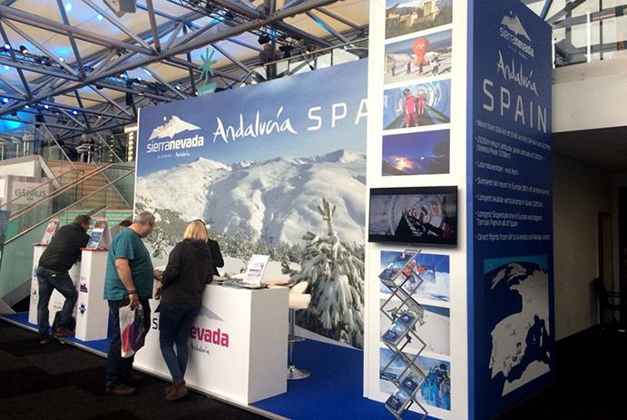 Sierra Nevada inicia la promoción de la temporada en el Ski Show de Londres