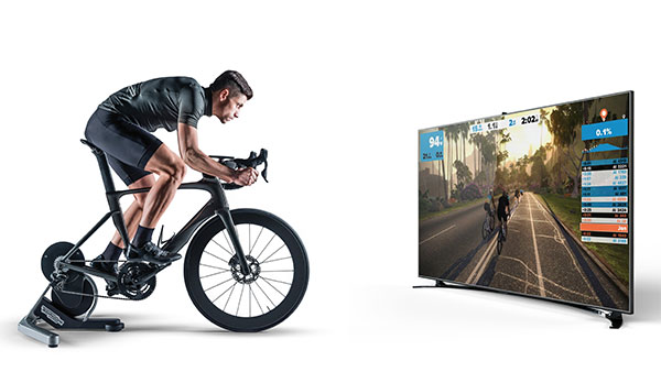 Technogym hace compatible MyCycling con Zwift