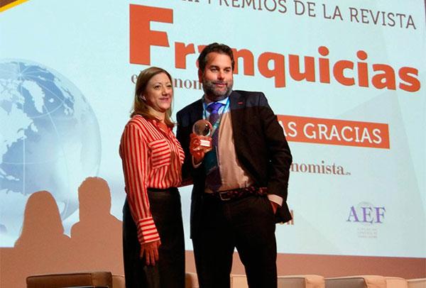Anytime Fitness recibe el premio a la franquicia extranjera con mayor desarrollo en España