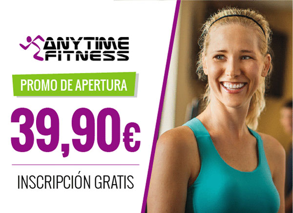 Anytime Fitness inicia la pre-venta en su gimnasio de Hortaleza