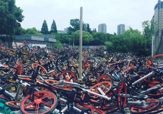 China frena el desarrollo del bike sharing