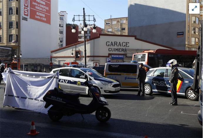 Fallece un ciclista tras colisionar con un camión en Valencia