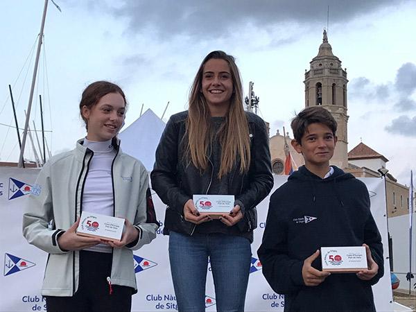 Claudia Serrano gana la Copa de Europa 2017 de patín a vela junior