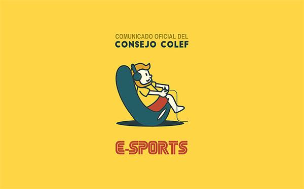 Colef pide una regulación separada de la deportiva para los eSports