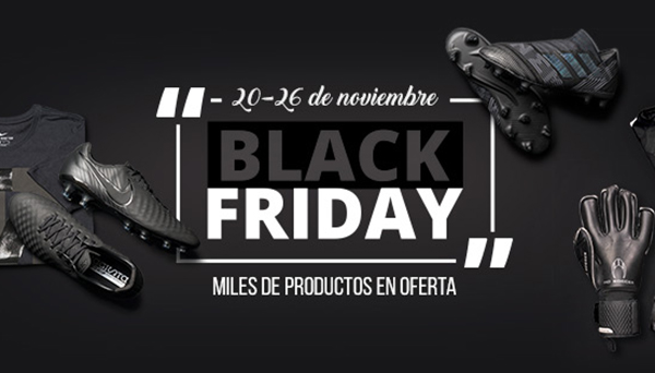 Futbol Emotion vende un 60% más durante el Black Friday