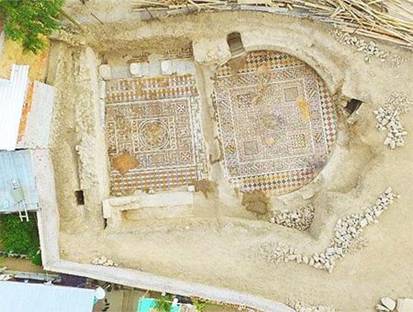 Descubren en Turquía un gimnasio de la época romana
