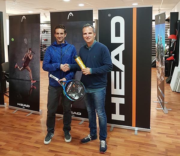 Alianza de Head con el circuito de tenis Sasco Express Pere Masip