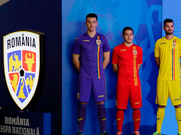 Joma presenta la nueva equipación de Rumanía