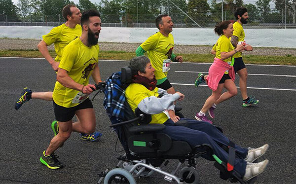 Maratones por la esclerosis múltiple