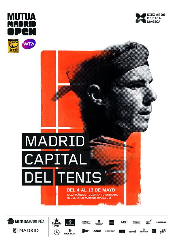 Madrid quiere ser la capital del tenis en 2018