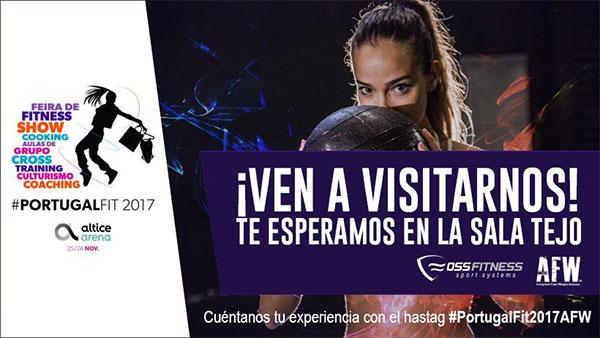 Oss Fitness debutará como expositora en Portugal Fit