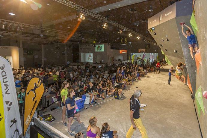 La feria OutDoor acogerá en 2018 el Campeonato Alemán de Búlder