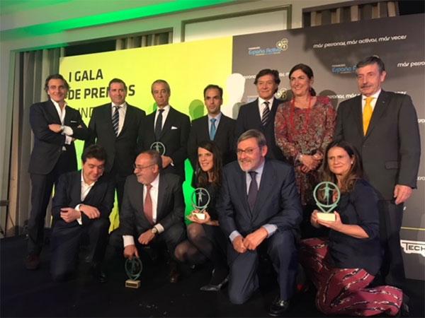 Grupo Telefónica y Coorporación Pascual, premiados por su apoyo al deporte