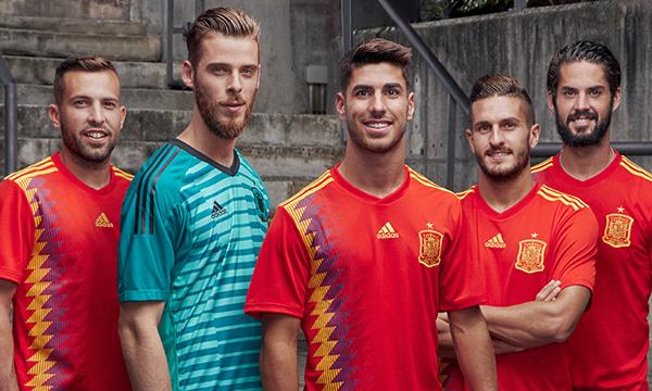 Adidas revela la nueva camiseta de España para el Mundial de Rusia 2018