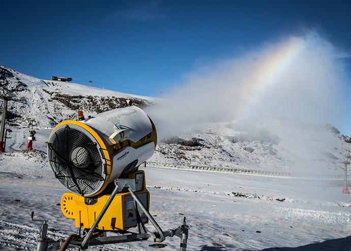Sierra Nevada inicia la producción de nieve artificial