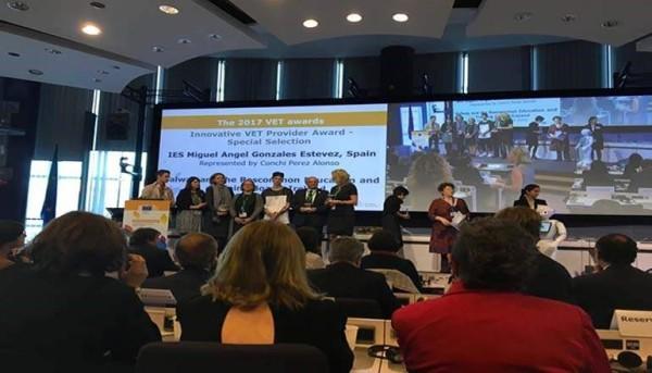 Un colegio español recibe un premio europeo por sus programas de actividad física