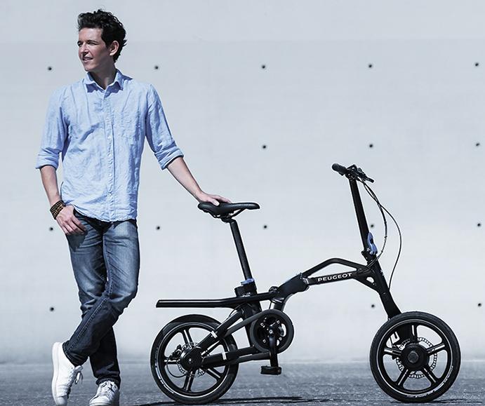 Peugeot Cycles gana el Estrella de Oro francés por el diseño de su plegable eF01