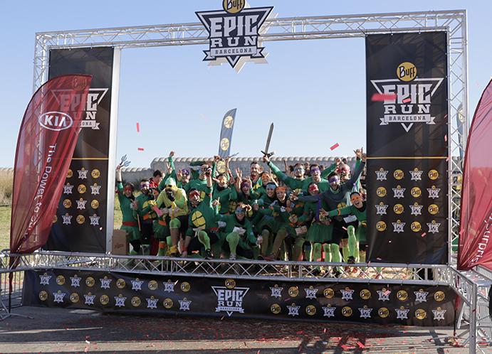 La Buff Epic Run celebra una nueva edición llena de sorpresas