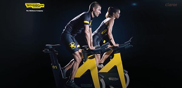 Claror Sardenya renueva la sala de ciclismo indoor con Technogym