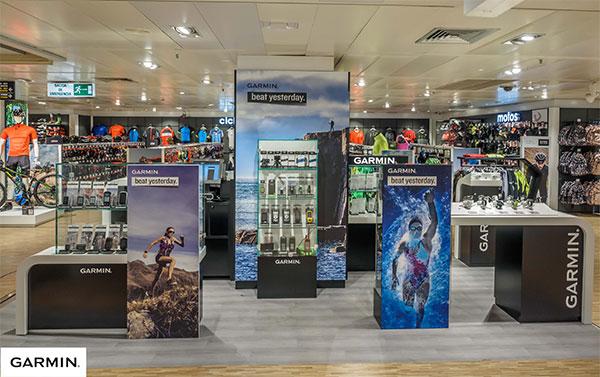 Garmin abre su primera tienda en España