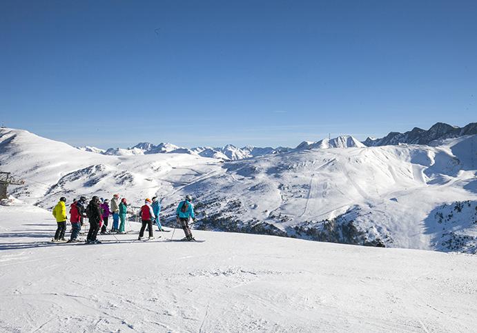 Grandvalira ofrece 175 kilómetros esquiables esta Navidad