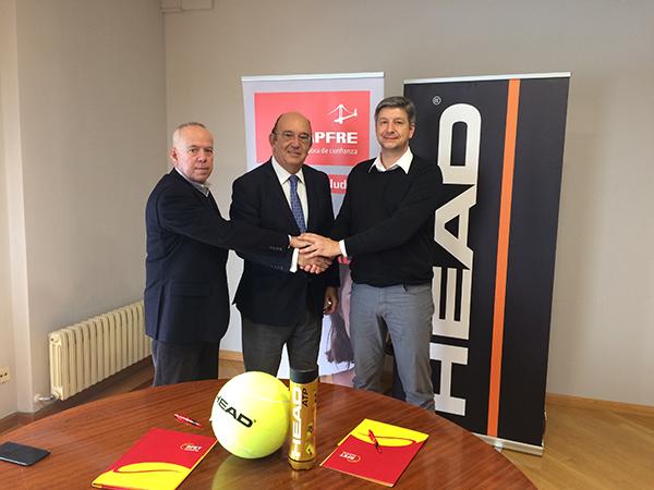 Head se convierte en la marca oficial de la Federación Española de Tenis