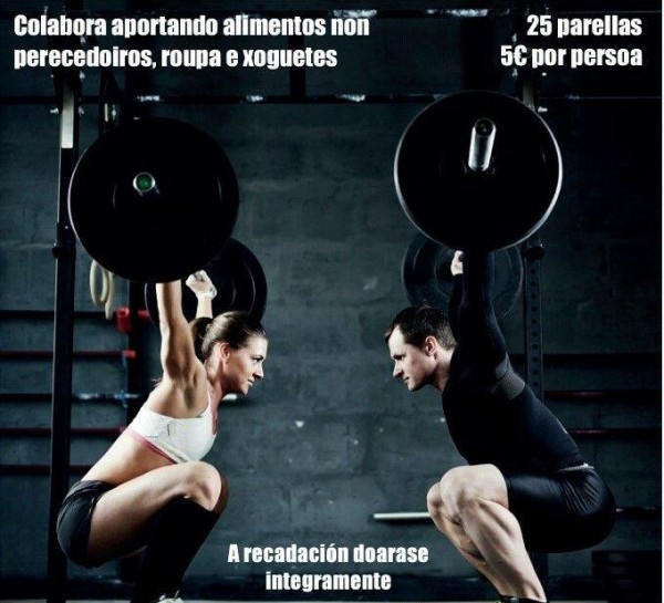 III CrossFit solidario en Pontevedra