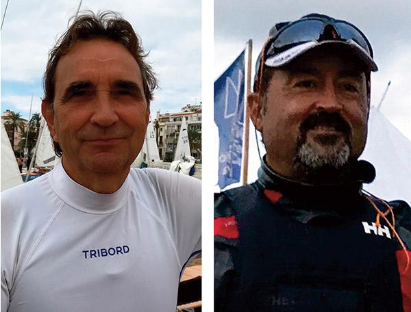 Joaquim Roig y Gregori Contreras, patrones del año en Badalona