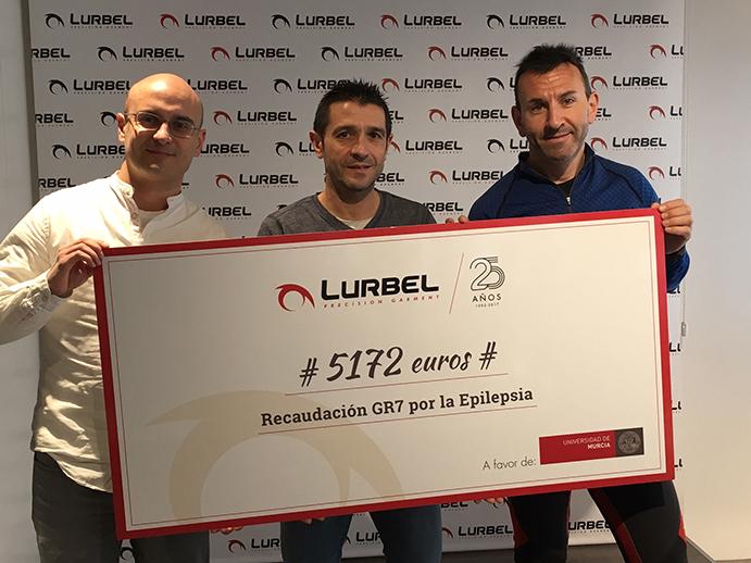 Lurbel recauda más de 5.000 euros para luchar contra la epilepsia infantil