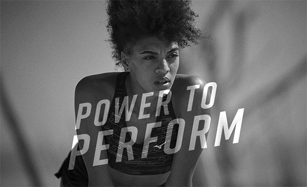 Mizuno anima a sobrepasar los límites en su campaña Power to Perform