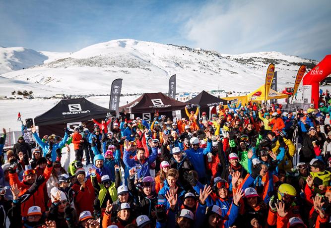 La Salomon Quest Challenge se estrena con 700 esquiadores